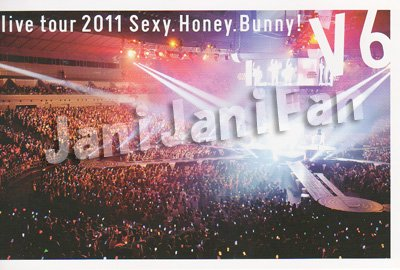 画像3: DVD (4枚組)★★ V6「V6 live tour 2011 Sexy.Honey.Bunny!」初回生産限定 (SEXY盤)