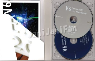 画像1: DVD (4枚組)★★ V6「V6 live tour 2011 Sexy.Honey.Bunny!」初回生産限定 (WALK盤)
