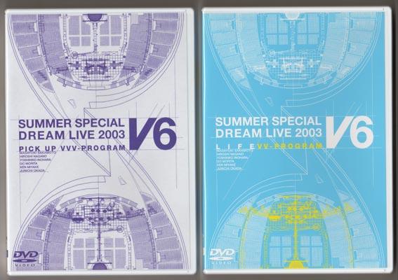 DVD(2枚組) ☆ V6 2004 「LOVE&LI...